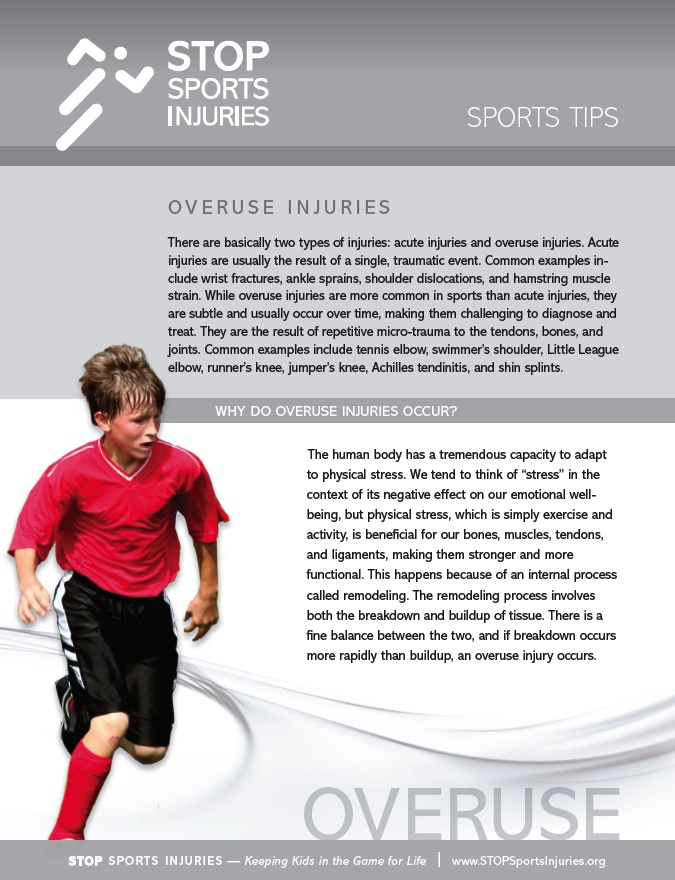 Preventing Overuse Injuries