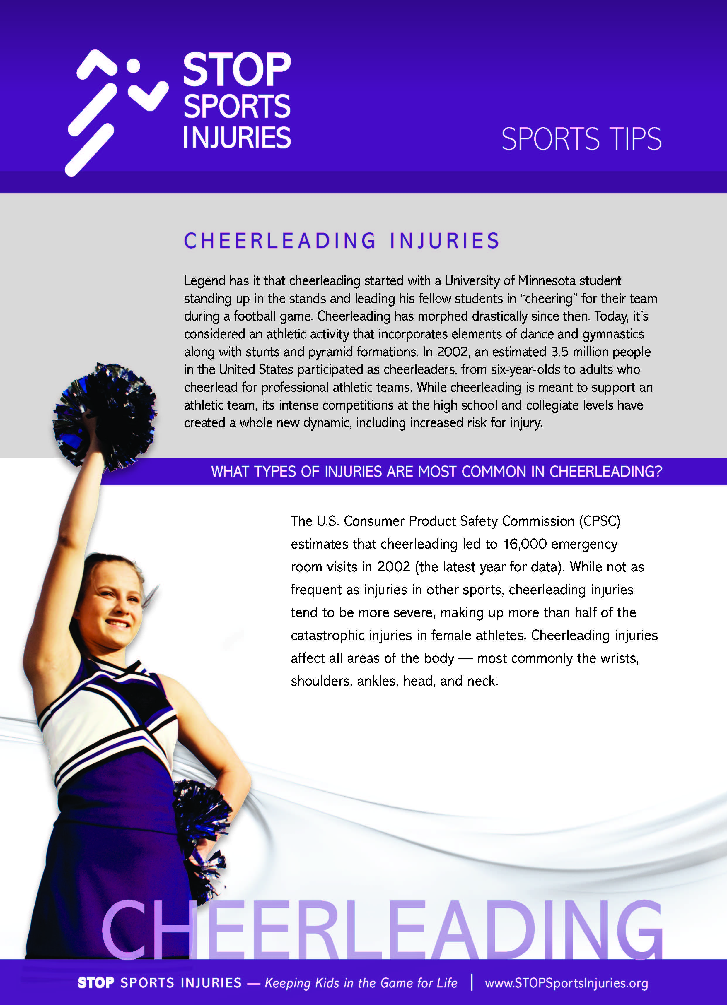 why cheerleading is a sport